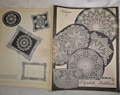 Vintage 1979 book titled Originals by Elizabeth Hiddleson - crocheting doilies