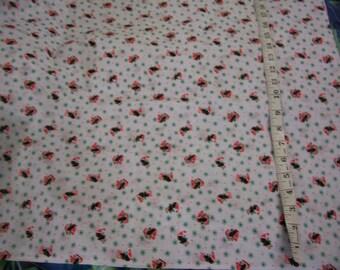"SALE Christmas Holiday Cotton print fabric w/penquins 4 yard length x 45"" width"