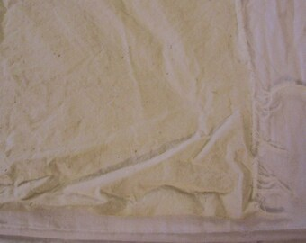 "Vintage Tan Cotton fabric 1  1/2 yard length x 36"" width"