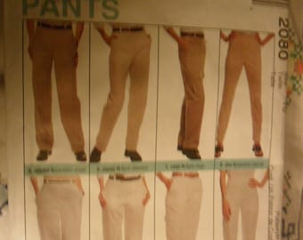 McCall's Perfect fit pants  pattern 2080 - in size 10