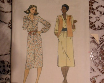 Quick Butterick Pattern 6378 - Misses size 16