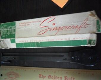 Antique 1940's Singercraft Guide -number 120987 -