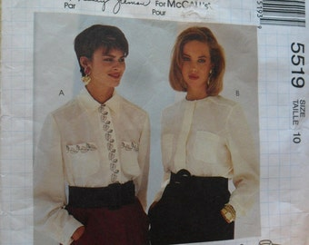 Busy Woman's UNCUT Blouse pattern 5519 in size 10
