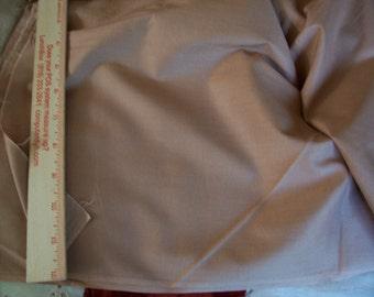 "Chocolate Malt Brown cotton fabric 2 yard 20"" long x 35"" width"