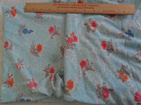 """Vintage Brushed tricot Fabric - 1 1/2 yards plus x 42"""" width"""