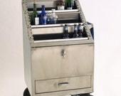B52 Stainless Steel Bar Cart