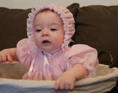"""Smocked Dress""""Little Poppet"""" - 6, 12, 18 months"""