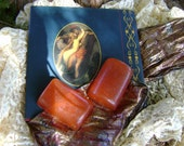 RESERVED LISTING FOR KCAMPTON - Order of 4 Folklore Red Clove and Vanilla Olive Oil Soaps