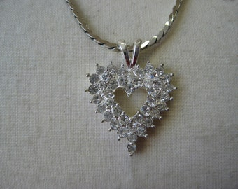 Sparkle Twinkle Heart - necklace