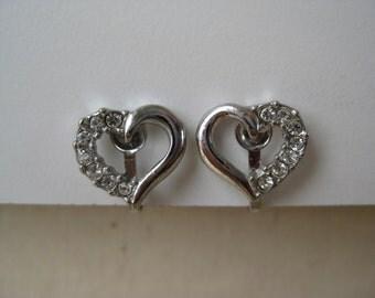 Sparkle Heart - earrings