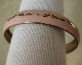 Pink Bracelet Bangle Vintage