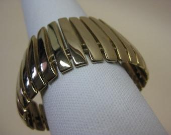 Slats of Metal - bracelet
