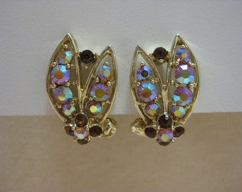 Golden Aurora - earrings