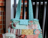 the Libby diaper or travel bag (pdf sewing pattern)
