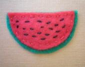 Watermelon - Felt Hair Clip