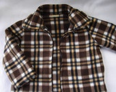 Junior Lumberjack Fleece Jacket- size 4T