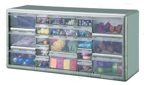 stack on 22 drawer storage cabinet stack on 22 bin plastic drawer storage organizer cabinet 26549