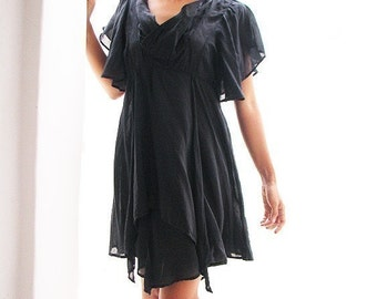Bella...Black mixed silk and all colour available in size........ M,L XL,XXL (246)