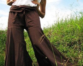 Enchanted pants brown..M,L