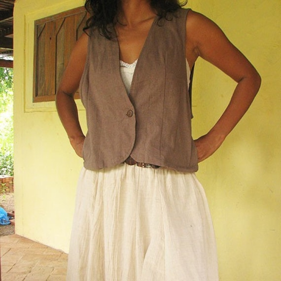 Everyday vest...Gray