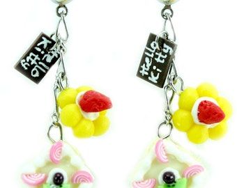 Miniature Polymer Clay Bakery Supplies for Foods Jewelry Earring