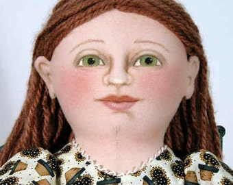Amity cloth doll E-PATTERN
