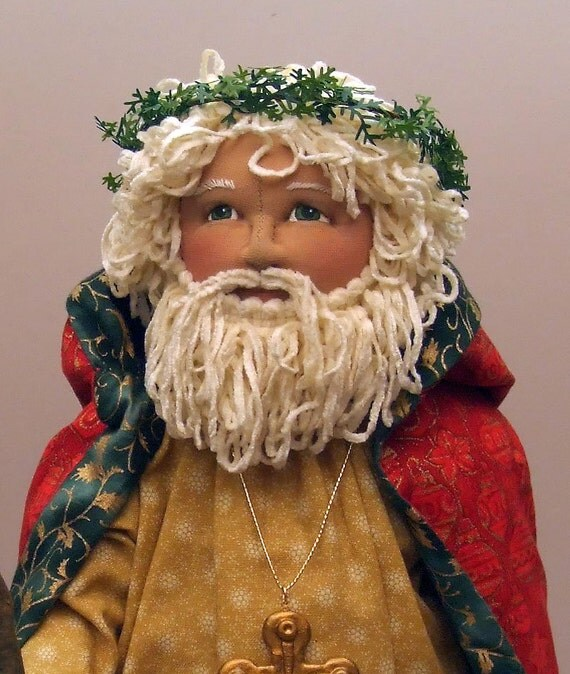 Old World Santa E-PATTERN