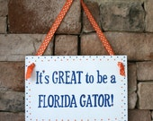 University of Florida Hand Painted Sign