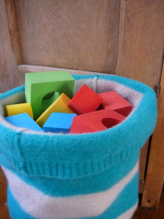 Soft Storage - Felted Wool Floor Basket