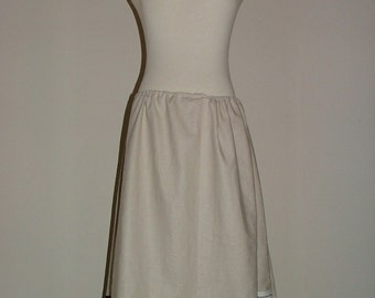 A-line SKIRT - Scandinavian - Linen and Cotton - Made in ANY Size - Boutique Mia