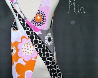 Reversible PINAFORE - Made in ANY Size - Boutique Mia