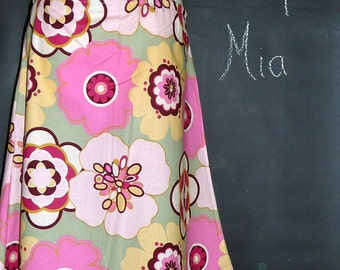 A-line SKIRT - Alexander Henry - Kleo - Made in ANY Size - Boutique Mia