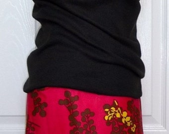 Pencil SKIRT - Berries - Made in ANY Size - Boutique Mia