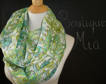 PERFECT GIFT - Infinity SCARF - Amy Butler - Quilters Cotton - by Boutique Mia