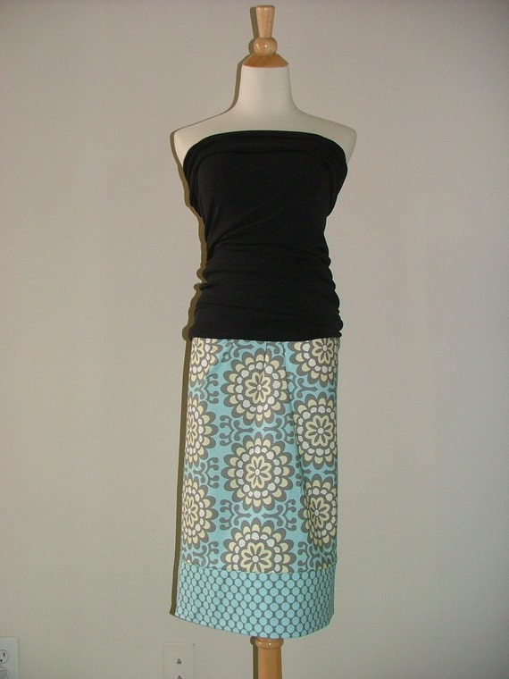 Ladies - Pencil a la' Pillowcase Skirt - You Pick the Size - Junior, Adult or Plus size - Boutique Mia by CXV