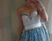 RESERVED Cloudia Rococo Gown... size Small 34B... Eco Friendly Recycled