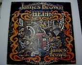 Vintage Vinyl Polydor Record 1974  JAMES BROWN  HELL  DAVE MATTHEWS  Arranged and Produced by James Brown, also arranged by Dave Matthews,