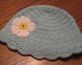 Cotton Flower beanie