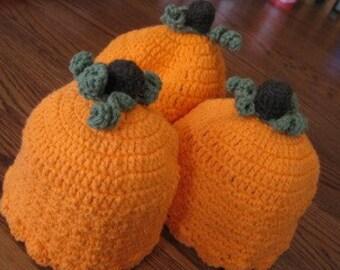 Pumpkin Beanie - Flapper Style