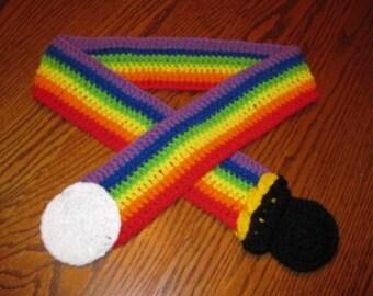 Rainbow scarf - Large size