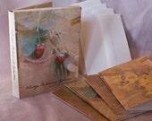 Buy Set of 12 Vintage Botanicals Notecards, Get hand-embossed writing paper FREE