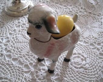 Lamb Easter planter