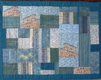 Architectural View Quilted Wall Hanging