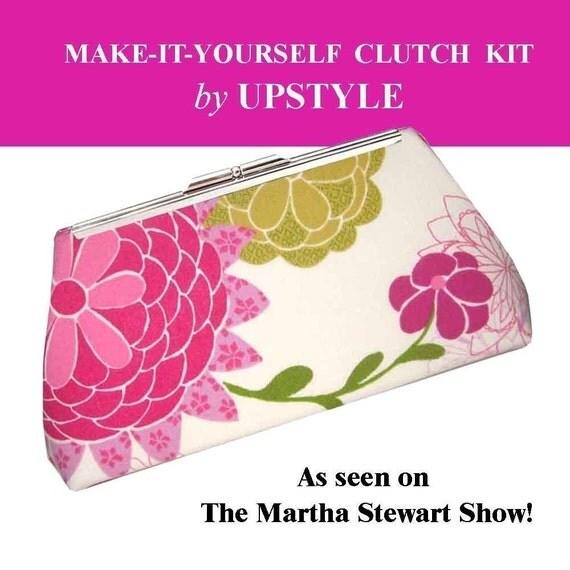 Make-It-Yourself Clutch Purse Kit - As seen on the Martha Stewart Show