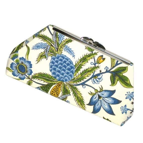 Clutch Purse Hawaii Destination Wedding Pineapple Tropical Bridesmaid - Made to Order by UPSYTLE