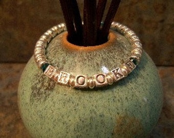 Oh Baby - Sterling Silver Child's Name Bracelet