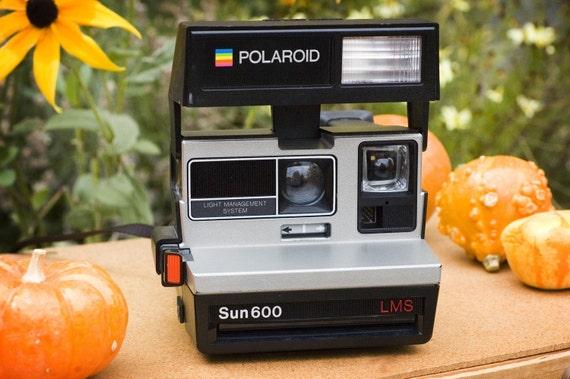 Film Tested Polaroid Sun 600 Instant Camera