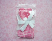 Pink Heart Stickers for Scrapbooks, Envelopes and Treat Bags