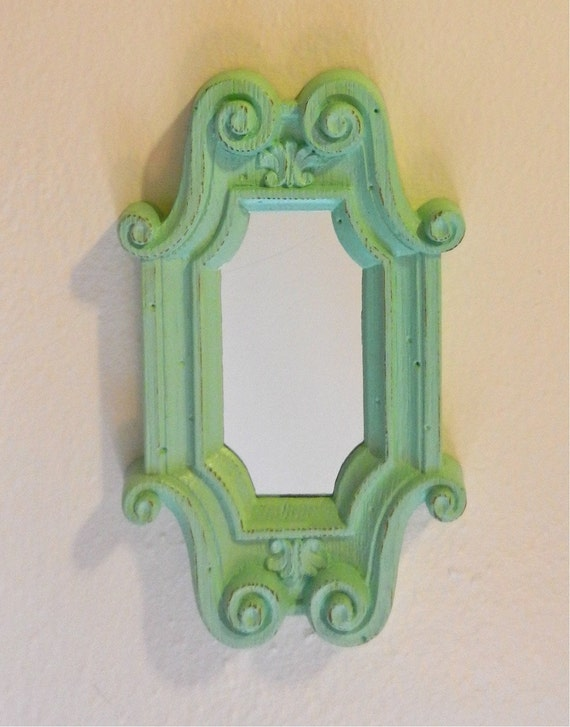 Small Vintage Up Cycled Mirror