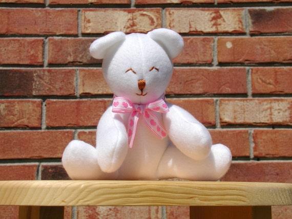Mini Teddy Q - White  ON SALE NOW